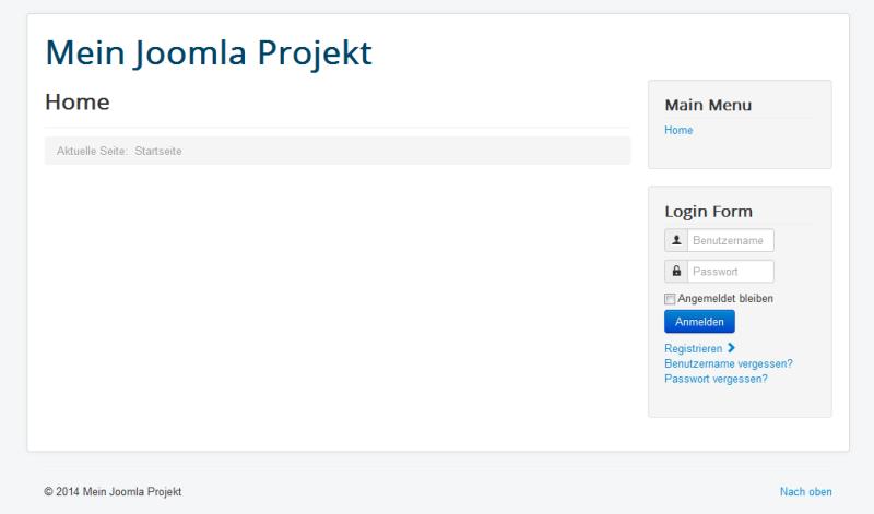 Joomla Frontend