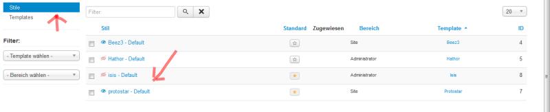 Grundlagen joomla vorlagen personalisieren rhein main for Protostar template layout