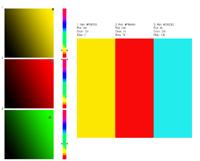 RGB Farbkombinationen ausprobieren